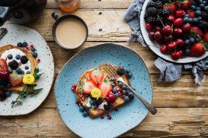 frühstück, essen, obst