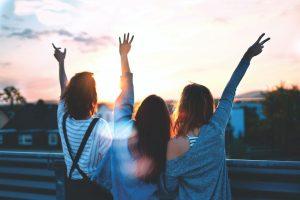 Freundschaft, Freundinnen, Frauen, friends